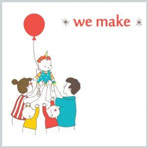 ערכות להפעלה עצמית של יום הולדת/ מסיבת יצירה לגילאי 4 ועד 12